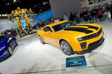 Transformers Movie Car Bumblebee Featured At Th Annual Town Fair - World of wheels car show boston